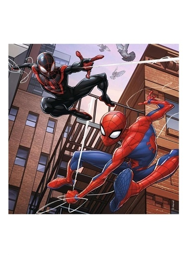 Ravensburger 3x49 Parça Puzzle Spiderman 080250 Renkli